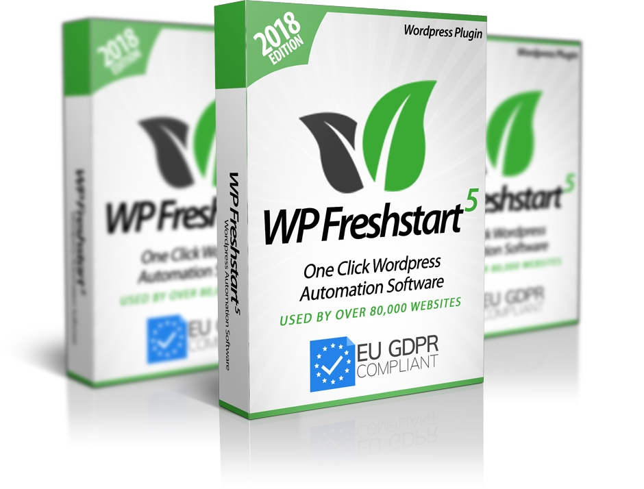 WP Freshstart 5 Review | WP Freshstart 5 Demo