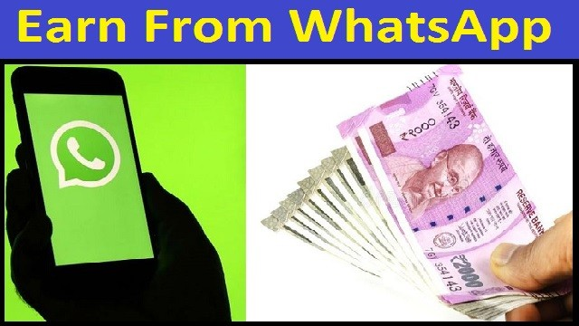 Earn From WhatsApp Without Any Investment